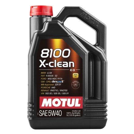 MOTUL 8100 X-clean 5W-40 4l