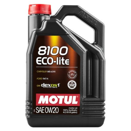 MOTUL 8100 Eco-lite 0W-20 4l