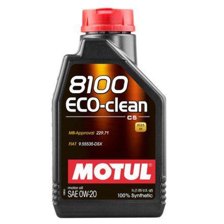 MOTUL 8100 Eco-clean 0W-20 1l