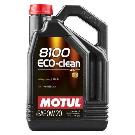 MOTUL 8100 Eco-clean 0W-20 5l