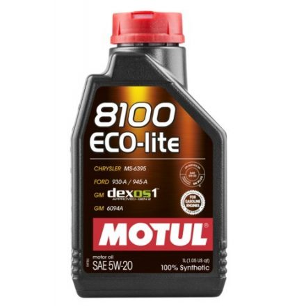MOTUL 8100 Eco-lite  5W-20 1l