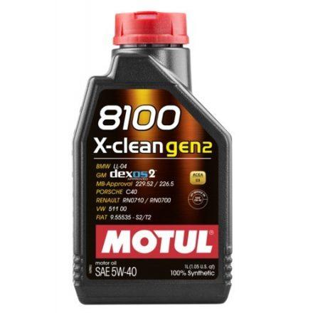 MOTUL 8100 X-clean gen2 5W-40 1l