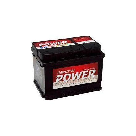 Electric Power 12V 55Ah J+ SMF (zárt karbantartás mentes akkumulátor) 190 mm MAGAS
