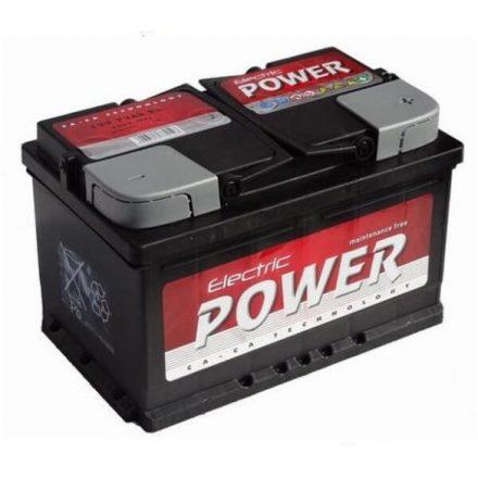 Electric Power 12V 75Ah J+ SMF (zárt karbantartás mentes akkumulátor) 190 mm MAGAS