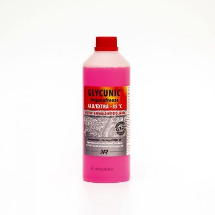 Glycunic Alu Basic G12 Fagyálló Hűtőfolyadék konc. Piros 1Kg