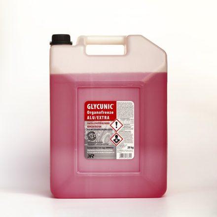 Glycunic Alu Basic G12 Fagyálló Hűtőfolyadék konc. Piros 220Kg