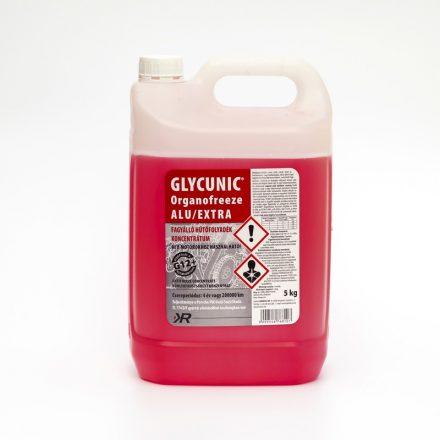 Glycunic Alu Basic G12 Fagyálló Hűtőfolyadék konc. Piros 5Kg