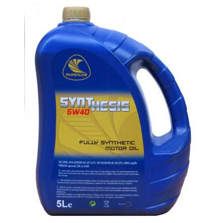 PARNALUB Synthesis 5W40 5L