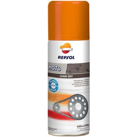 REPSOL Moto Chain Dry White 400ML